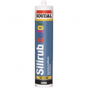 Silirub Color Soudal 300ml - 15szt.